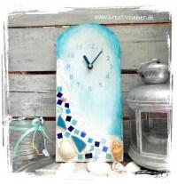 Mosaik - Uhr basteln
