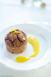 Orangen-Schokoladenküchlein mit Eierlikör von den [Foodistas]