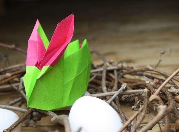 Osterhasen Origami