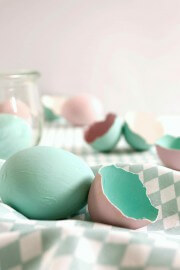 Ostereier in Chalky-Farben