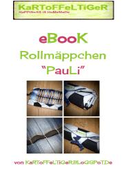 """eBook Rollmäppchen """"PauLi"""" (in zwei Größen und mehreren Varianten)"""