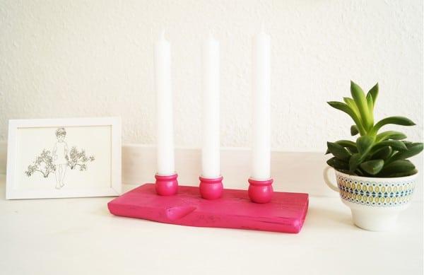 Paletten-Kerzen