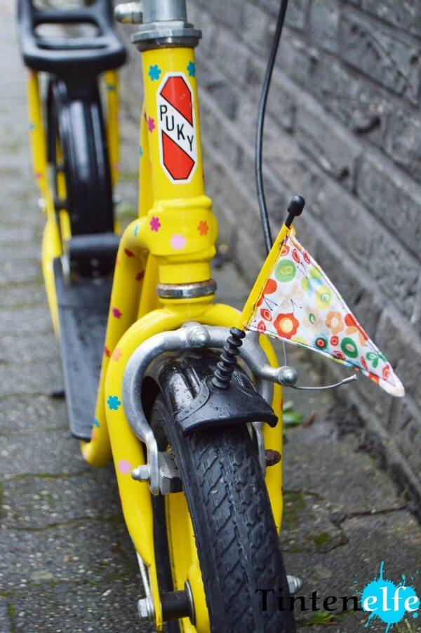Plottertipp - Blümchen erstellen und Kinderroller upcyclen