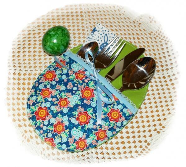 n hen f r anf nger diy bestecktasche osterei handmade kultur. Black Bedroom Furniture Sets. Home Design Ideas