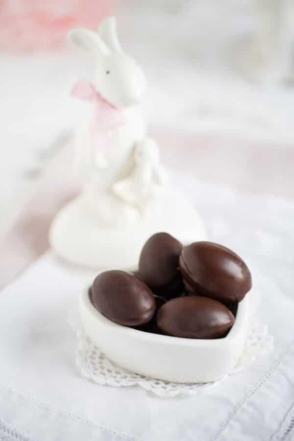 """""""Schokoladen Ostereier gefüllt mit Salzkaramell!"""""""