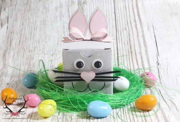 Hasen-Verpackung zu Ostern