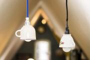 Tassenlampe: Upcycling eine Lampe aus einer Tasse selbst machen