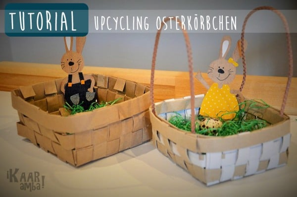 Upcycling Osterkorb