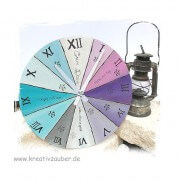 römische runde Uhr