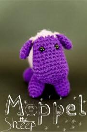 Moppel the sheep – Amigurumi Schaf