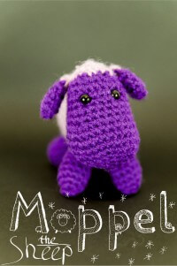 Moppel the sheep – Amigurumi Schaf