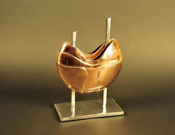 Vase aus Kupfer