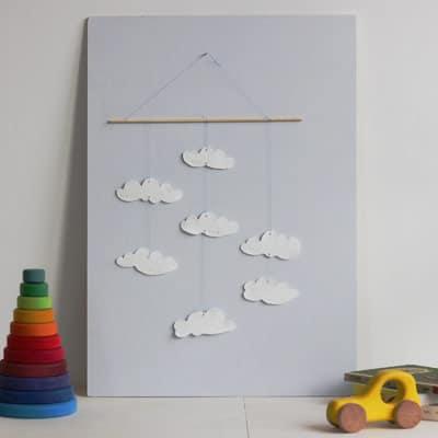Kinderzimmer DIY Wolke 7