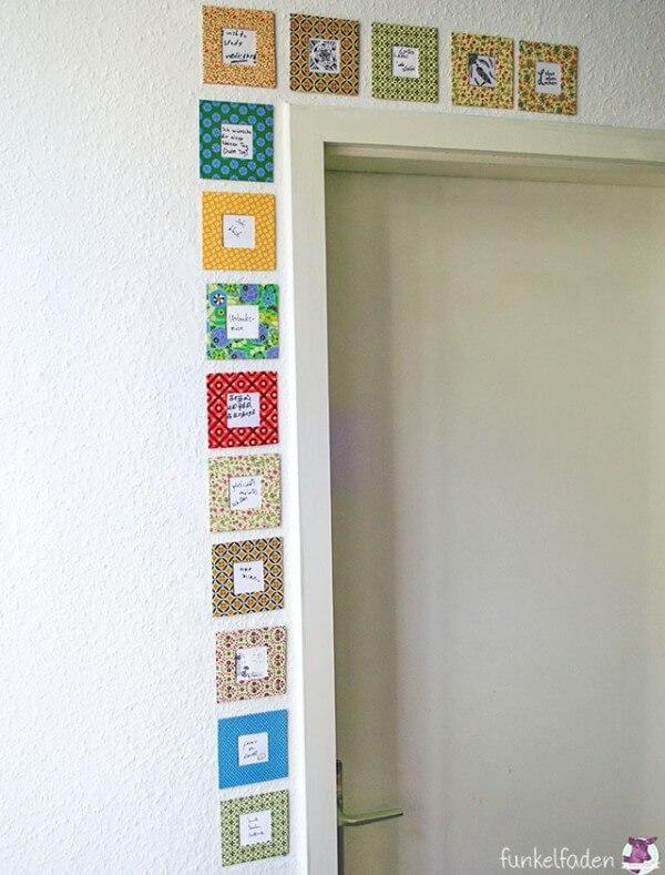 DIY - Bilderrahmen mit Wünschen