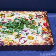 Bärlauch-Tomaten-Quiche - Aroma, Frucht, Würze & Crabmeat im Quartett [Birgit D]