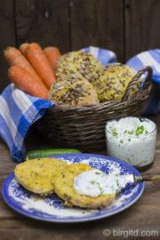 Knusprige Karotten-Brötchen - fluffig & aromatisch [Birgit D]
