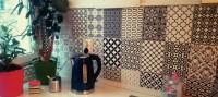 Küchenaufhübschung mit Posterfolie