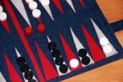 Backgammon nähen
