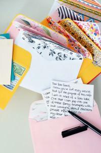 Briefumschläge aufhübschen
