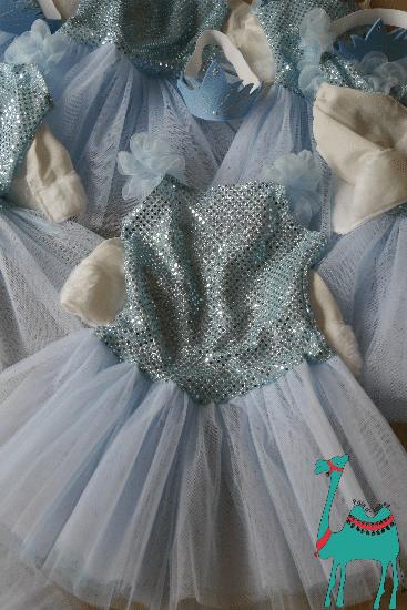 Elsa als kleine Ballerina