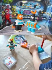 Roboter aus Fimo
