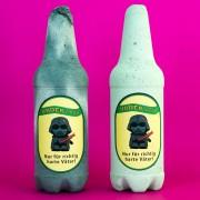 Vatertagsgeschenk – Bierflasche aus Beton (für richtig harte Väter)