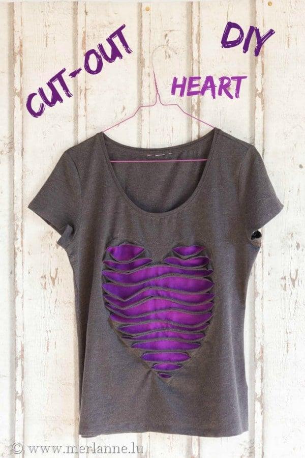Ein Herz fürs T-Shirt