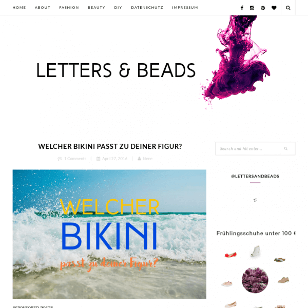 Letters & Beads - Fashion | Beauty | DIY