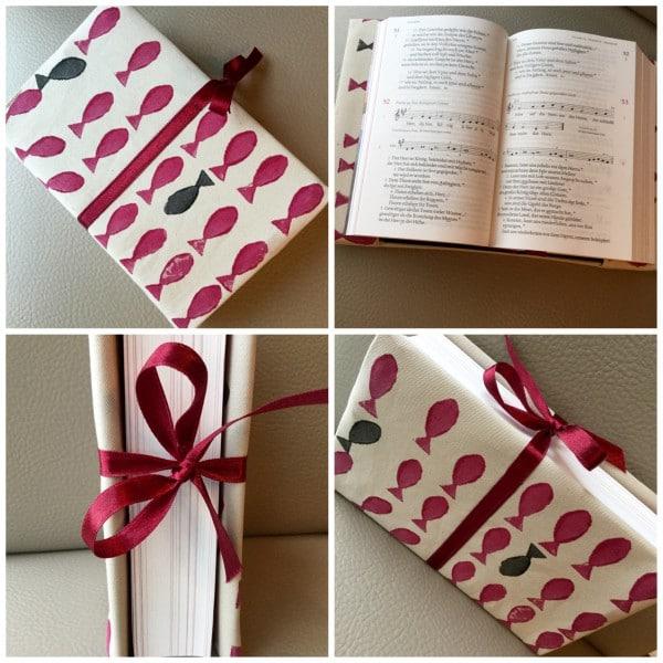 Verhüllt: hübsche Verpackung für Bücher