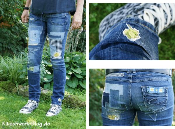 DIY: Jeanshose