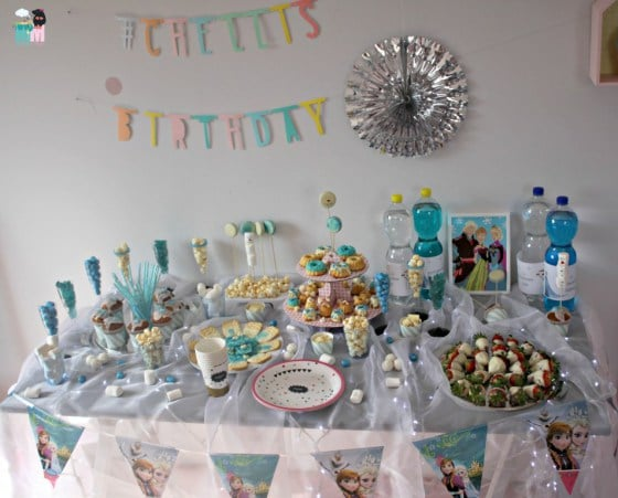 Unser Frozen Geburtstag mit Deko & Food-Ideen