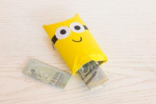 Minions-Geschenkverpackung - schnell und originell