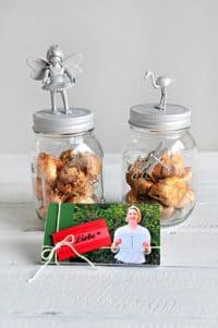 DIY Muttertagsgeschenke - Daumenkino und Blumenzwiebeln im Glas