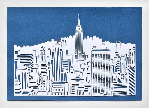 New York Papercut