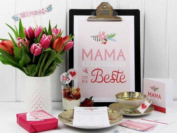 Deko-Set zum Muttertag