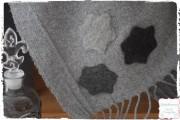 Wolldecke pimpen - ganz easy mit Nadelfilzen