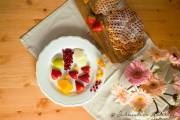 Vanille-Waffeln nach Mamas Rezept und herziges Obst