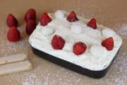 Erdbeer-Kokos Tiramisu