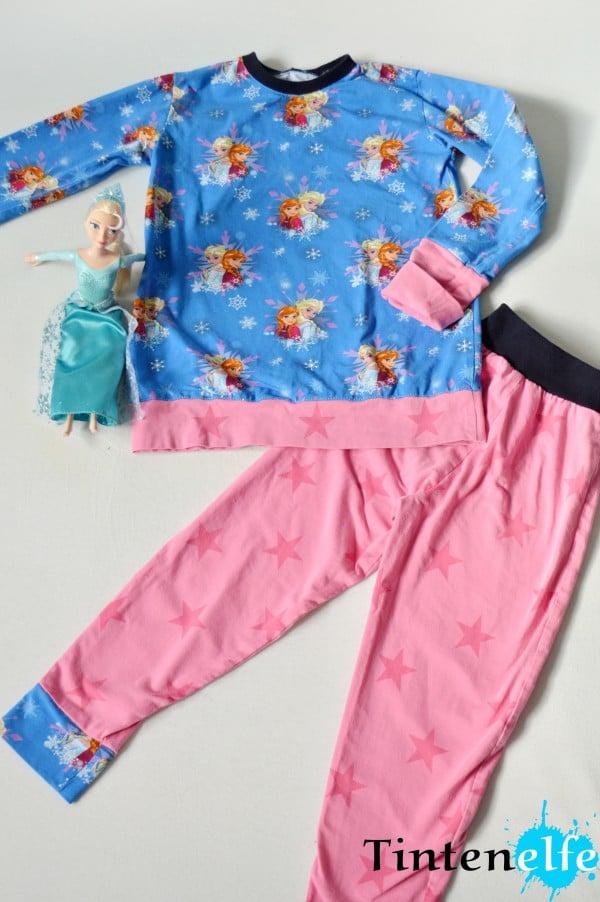 Nähen für Kinder - Schlafanzug für süße Träume