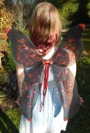 Elfenflügel in schwarz - Fairy wings