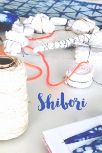 Shibori Färben – das step by step Tutorial