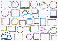 Freebie Motivationskalender / Sonne-Wolken-Kalender