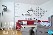 Kleines Wohnzimmer Makeover - Upcycling, Nähen und ein Ikea Hack