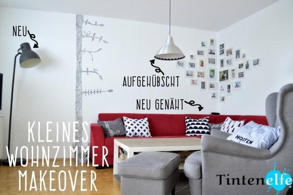 kleines wohnzimmer makeover upcycling n hen und ein ikea hack handmade kultur. Black Bedroom Furniture Sets. Home Design Ideas