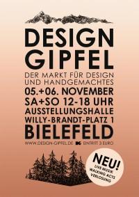 Design Gipfel- Der Markt für Design und Handgemachtes in Bielefeld