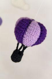Häkelprojekt Heißluftballons & Wolken