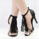 Abnehmbare Fransen-Stege für Sandaletten