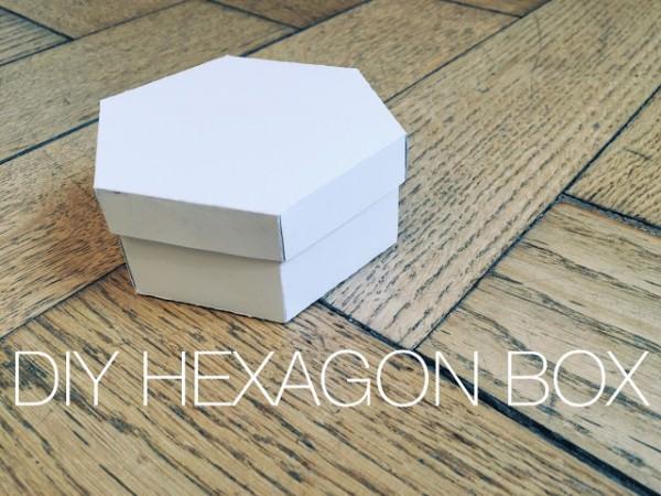 DIY Papierbox
