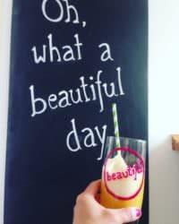 Oh, was für ein schöner Tag