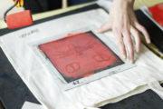 Kindergeburtstag - Stoff und Papier selber bedrucken *DIY*